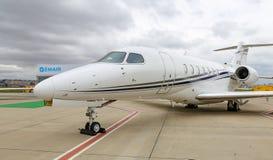 Longitudine Costantinopoli Airshow di citazione del Cessna 700 immagine stock libera da diritti