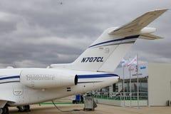 Longitudine Costantinopoli Airshow di citazione del Cessna 700 immagini stock