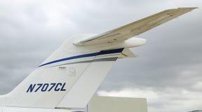 Longitudine Costantinopoli Airshow di citazione del Cessna 700 fotografie stock libere da diritti
