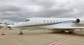 Longitudine Costantinopoli Airshow di citazione del Cessna 700 immagini stock libere da diritti