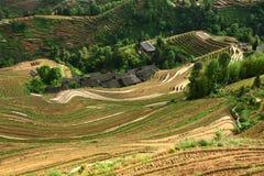 Longji terrace,Guilin Stock Images