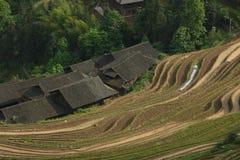 Longji terrace ,Guilin Royalty Free Stock Images