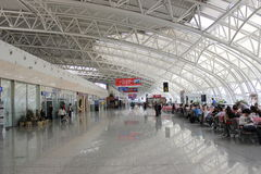 The longjia airport Stock Images