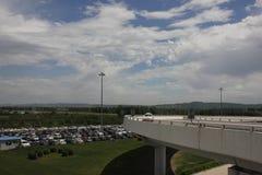 Longjiaflygplatsen Arkivfoto