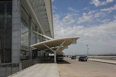 Longjiaflygplatsen Royaltyfria Bilder