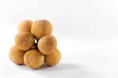 Longkong is fruit southern asian flavor sweet Stock Photos