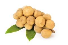 Longkong ,Langsat or Lanzones fruit is endemic to Southeast Asia. Longkong, Langsat or Lanzones fruit is endemic to Southeast Asia. watery flesh with a sweet royalty free stock photography