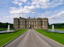 Longleat. Manor house in Longleat, famous british landmark Royalty Free Stock Image
