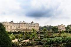 Longleat ogródy i dom Obrazy Stock