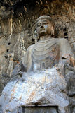 Longmen Caves, Dragon Gate Grottoes, in  Luoyang city Stock Photo