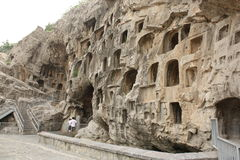 Longmen Caves in Luoyang Royalty Free Stock Images