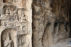 Longmen Caves in Luoyang Stock Image