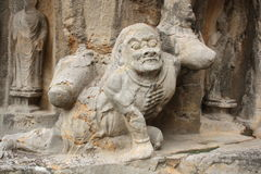 Longmen Caves in Luoyang, China Stock Images