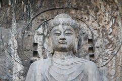 Longmen excava Luoyang Imagenes de archivo