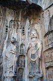 Longmen foudroie Luoyang Photos libres de droits