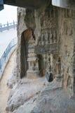 Longmen-Grotten Stockbilder