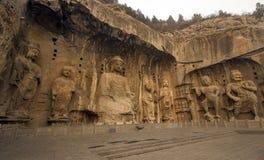 Longmen-Grotten Lizenzfreie Stockbilder