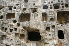 Longmen Grotto Stock Image