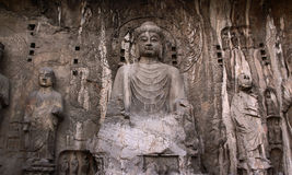 Longmen Grottoes. In Luoyang, China Royalty Free Stock Images