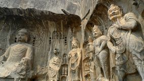 Longmen Grottoes Royalty Free Stock Photography