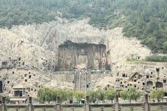 Longmen Grottoes Stock Photography