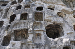Longmen Grottoes Caves Stock Image
