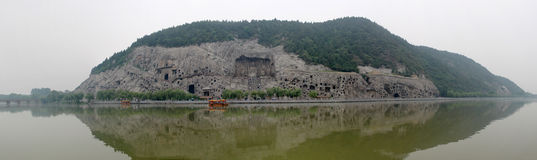 The Longmen Grottoes Stock Image