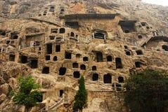 Longmen grottoes Royalty Free Stock Image