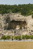 Longmen Grottoes of Luoyang Royalty Free Stock Photo