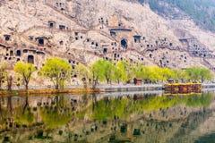 Longmen Grottoes. Luoyang in China royalty free stock image