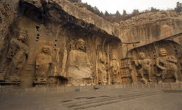 Longmen grottoes Stock Image