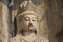 Longmen Grottoes in Luoyang, Henan province, China Park Royalty Free Stock Images
