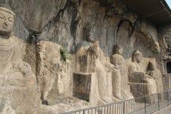 Longmen Grottoes in Luoyang, Henan province, China Park Stock Image