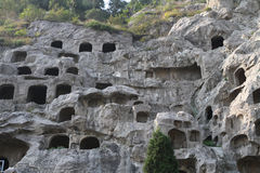 Longmen Grottoes Royalty Free Stock Images