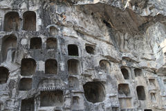 Longmen Grottoes Royalty Free Stock Photos