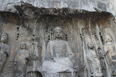 Longmen Grottoes Royalty Free Stock Photos