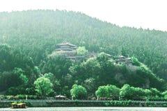 Longmen grottor, Luoyang, Henan Provinceï ¼ŒAsiaï ¼ ŒChina Royaltyfri Fotografi