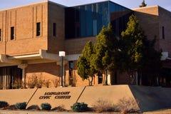 Longmont Kolorado centrum administracyjno-kulturalne, urzędu miasta Rządowy budynek,/ Zdjęcia Stock