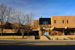 Longmont Kolorado centrum administracyjno-kulturalne, urzędu miasta Rządowy budynek,/ obrazy royalty free
