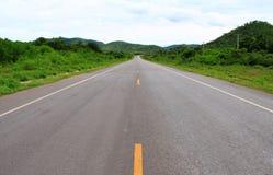 Longo caminho. Fotos de Stock Royalty Free
