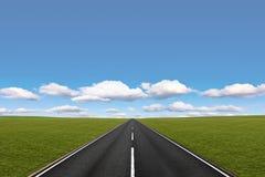 Longo caminho Imagem de Stock Royalty Free