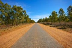 Longo caminho na distância Fotografia de Stock Royalty Free