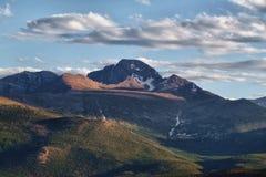 longs μέγιστος δύσκολος βουνών Στοκ Φωτογραφίες