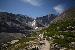 longs пик национального парка горы утесистый Стоковая Фотография