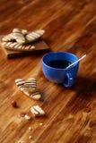 Longs biscuits de noisette Photo stock