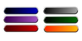 Longs boutons Image libre de droits
