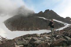 Longs maximala Rocky Mountains National Park arkivbilder