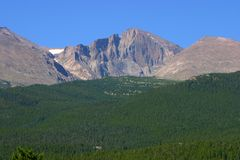 Longs Peak Stock Photography