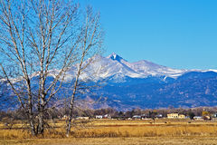 Longs Peak Royalty Free Stock Image