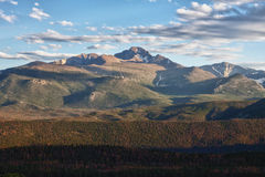 Longs Peak  Moraine Park Rocky Mountains Royalty Free Stock Images